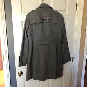 Enlightened Outerwear Jackets & Coats - Enlightened Outwear Gray Wool Blend Dress Jacket